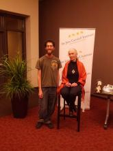 Sam and Jane Goodall