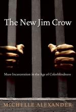 The cover of The New Jim Crow