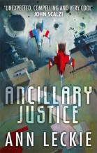 The cover of Ancillary Justice