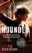 The cover for Hounded, the first book in the Iron Druid Chronicles