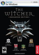 "The video game box for ""The Witcher"""
