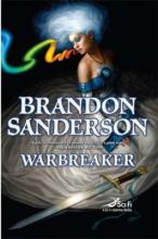 The cover art for Warbreaker