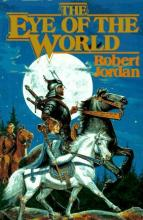 The cover of Eye of the World, the first Wheel of Time novel