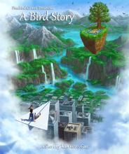 A bird story logo