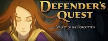 The Defender's Quest logo