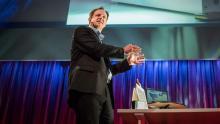 Harald Haas' TED talk image