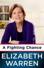 "The cover for Elizabeth Warren's ""A Fighting Chance"""